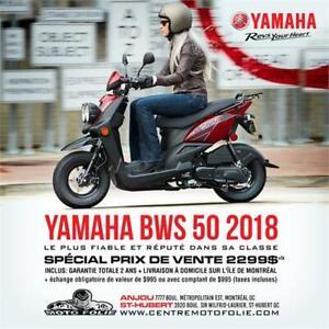 YAMAHA BWS 50 USAGE