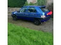 02 plate Citroën saxo for sale or swap