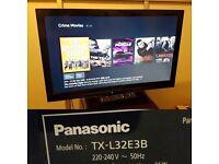PANASONIC TX-L32E3B 32 INCH FULL HD 1080P ULTRA SLIM LCD/LED TV