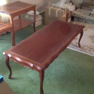 Cherry wood coffee table Stratford Kitchener Area image 2
