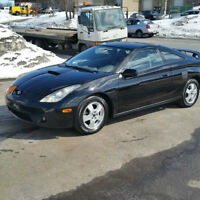 Toyota Celica gt-s condition comme neuve manual shift au volant