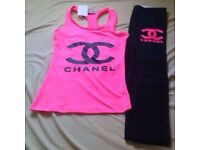 Outfit Chanel New with out tag pink and black all size/8/10/12/14 for just 15.00£