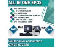 EPOS SYSTEM FOR TAKE AWAY TILL SYSTEM FOR RESTAURANT