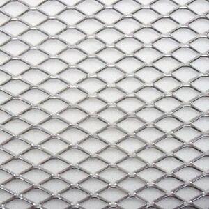 Griglia rete sportiva auto moto paraurti tuning grigio for Rete ombreggiante grigia