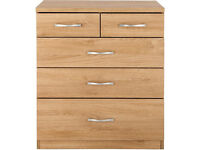 Used Peru 3+2 chest of drawers