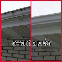 Nettoyage/lavage de vitres et gouttières Gatineau - Outaouais