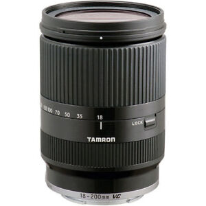 Tamron 18-200mm F/3.5-6.3 Di III VC Lens for Sony E Mount Camera