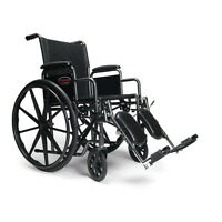Wheelchair 18″ Nylon Elevating legrest - Free Delivery