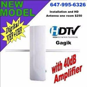 HD TV  antenna Professional Installer Installations start $130 and Mast $30 + $90 Antenna