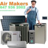 FURNACE & AIR CONDITONER ON SALE Carrier & Lennox from1700