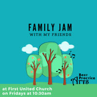 Family Jam for ages 0-6!