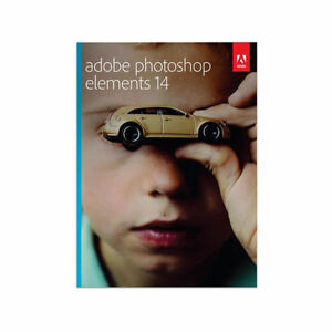 BRAND NEW IN SEALED BOX ADOBE PHOTOSHOP ELEMENTS 14 PC / MAC DVD