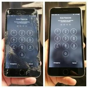 * iPhone 6 6+ SE 5s 5c 5 4 4s Cracked Screen Repair On Spot *