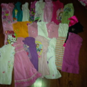 62 items 6 and 6x girls clothes Bag