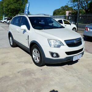 2012 Holden Captiva CG Series II 5 AWD White 6 Speed Sports Automatic Wagon St James Victoria Park Area Preview