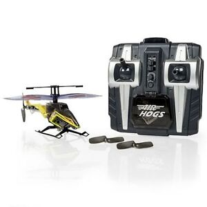 NEW: Air Hogs RC - Axis 400x R/C Helicopter - Yellow or Blue
