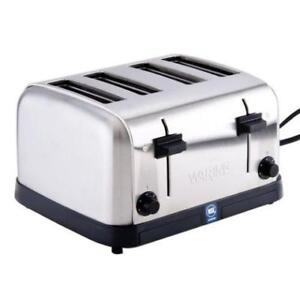 Waring WCT708 4 Slice Commercial Toaster - 120V *RESTAURANT EQUIPMENT PARTS SMALLWARES HOODS AND MORE*