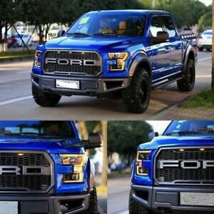 FORD F150 Raptor Grille + BUMPER +Carbon Fiber Hood w/ Scoop ---- HOLIDAY SEASON SALE !!!