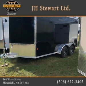 NEW 2018 Aluminum High Country 7 x 14 utility trailer