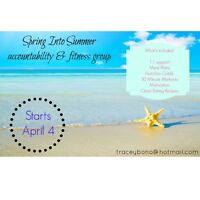 Spring Into Summer Accountability Group - FREE to join