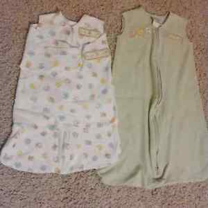 Sleep sack and swaddle blanket COMBO