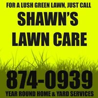 FREE Fertilizing when you sign up for this season Lawn Care