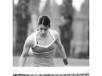 I am Mariona and I have been tennis player and currently I am a coach and referee tennis.
