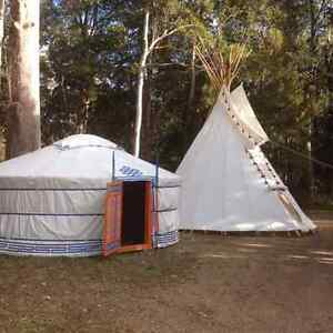 Yurts and Tipis made to order Lower Beechmont Ipswich South Preview