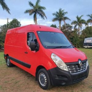 2016 Renault Master X62 Mid Roof MWB AMT Red 6 Speed Sports Automatic Single Clutch Van
