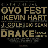 OVO J.COLE LAWNS FOR AUGUST 2 @ MOLSON AMP - ONLY $130 EACH!