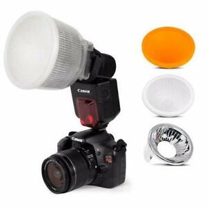 Universal Lambency Flash Diffuser with Dome Cover