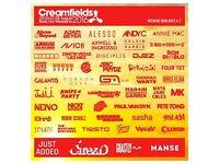 Creamfields 3 Day Standard Camping Ticket w/ Parking