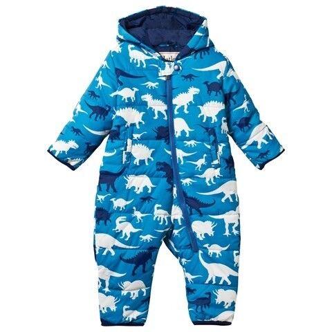 c6d808f0272e Hatley Boys Dinosaur Snowsuit Size 12-18 months - Excellent Condition