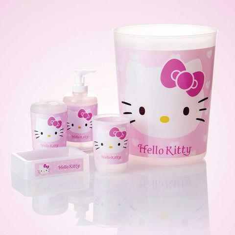 hello kitty bathroom set ebay. Black Bedroom Furniture Sets. Home Design Ideas