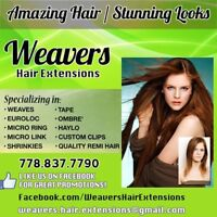Hair Extensions & Services