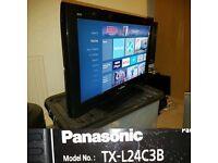 "Panasonic TX-L24C3B TV 24"" HD Ready LCD screen"