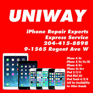 UNIWAY REGENT iPHONE iPAD iPOD TOUCH REPAIRS AND SERVICES