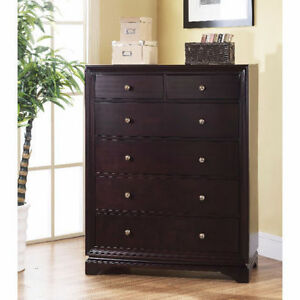 BRAND NEW!! SOLID OAK WOOD ESPRESSO FINISH DRESSER CLEARANCE