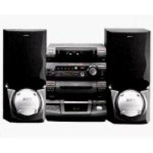 Sony System 240 watt with cabinet cd ctorage