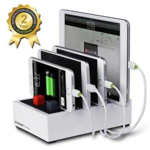 Multiple Devices Charger & Charging Station Docking 2-in-1