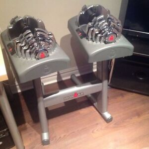 Ironman Adjustable Dumbbells 2.5lbs to 55lbs + Stand