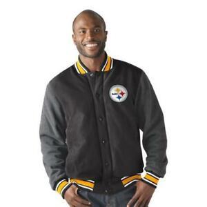 Pittsburgh Steelers grey coat XL/Brand New/valued at $169.00