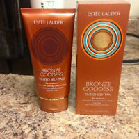 100% Authentic Estee Lauder Bronzer Goddess Tinted Self-tan