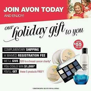 LAST CHANCE - FREE TO JOIN - AVON REPS NEEDED Moose Jaw Regina Area image 1