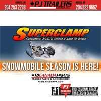 SuperClamp #1 Snowmobile Tie Down System Winnipeg Manitoba Preview