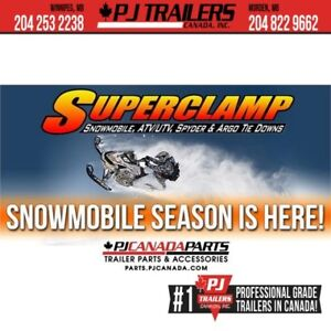 SuperClamp #1 Snowmobile Tie Down System