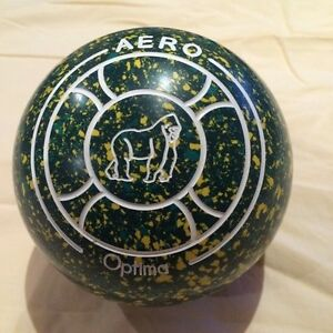 Aero OPTIMA Lawn Bowls Size 3H WB25 Plain Grip Brand New In Box Eastwood Burnside Area Preview