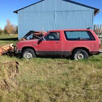 1983 GMC Jimmy SUV, Crossover & Snow Plow
