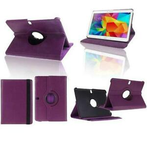 "Purple rotating case for Samsung Tab 4 10.1"" (T530)"