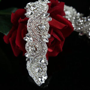 Luxury Rhinestone Crystal Belt / Sash, Crystal Rhinestone trim!